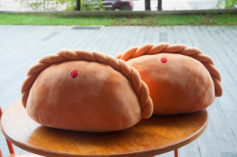 Curry Puff Cushion - Local Cushions - Nom Nom Plush - Naiise