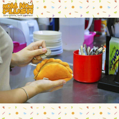 Curry Puff Pouch - Local Coin Pouches - Nom Nom Plush - Naiise
