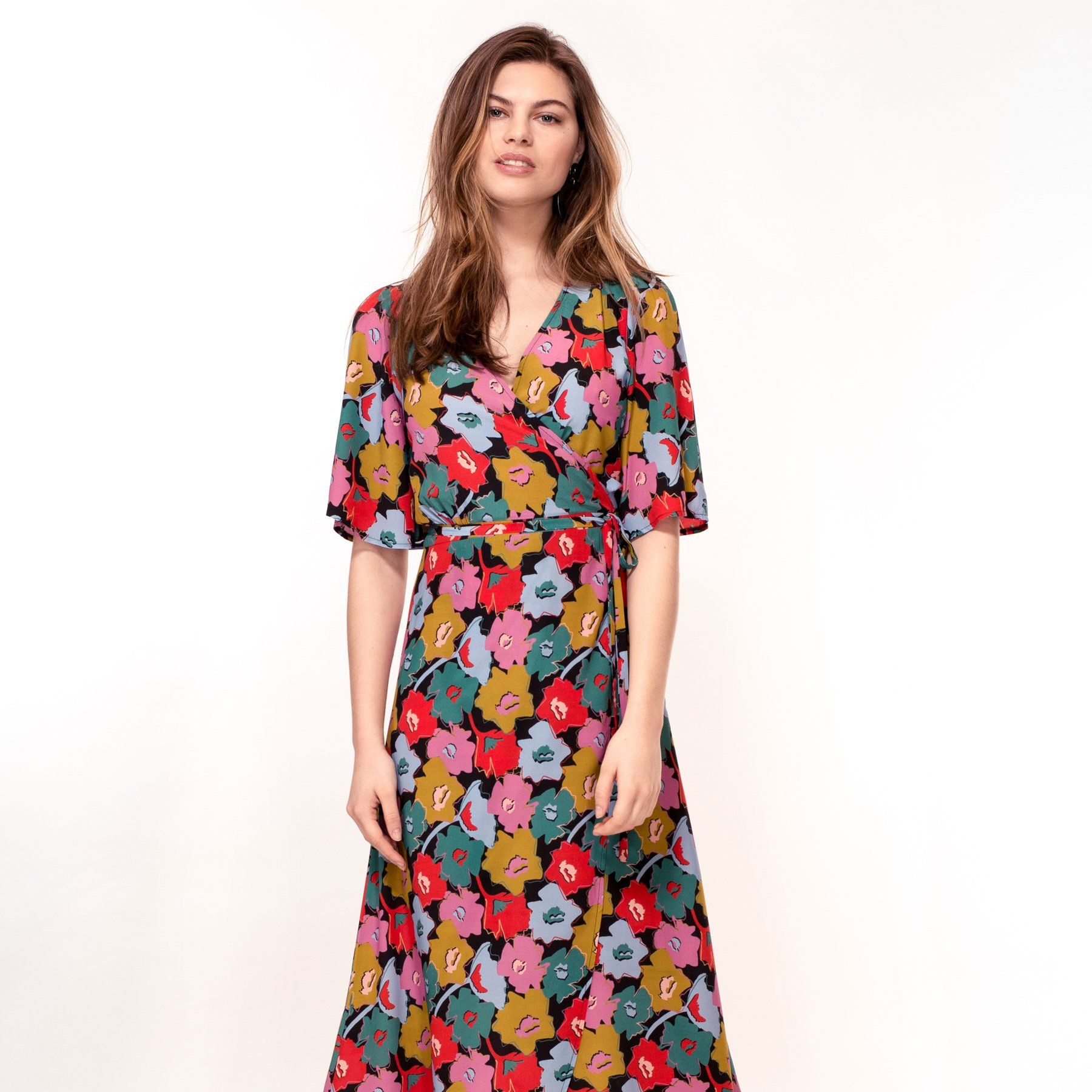 Cut Out Floral Print Dress (Pre-Order) - Dresses - Hide The Label - Naiise