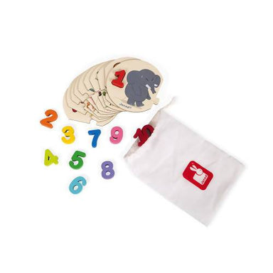 I Learn To Count Puzzle - Kids Toys - The Children's Showcase - Naiise