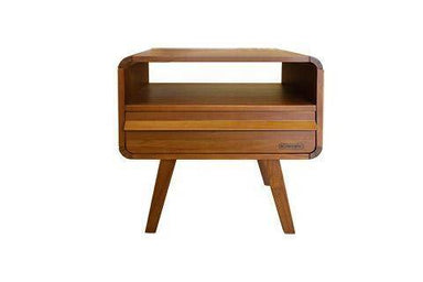 FRED Side Table with Drawer Side Table Scanteak FRED Side Table with Drawer