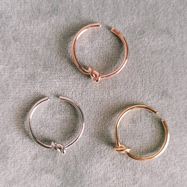 Dainty Knot Ring - Rings - Lady N Jewelry - Naiise