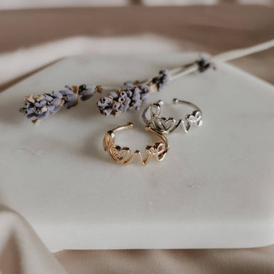 Dainty Love Ring Rings Lady N Jewelry
