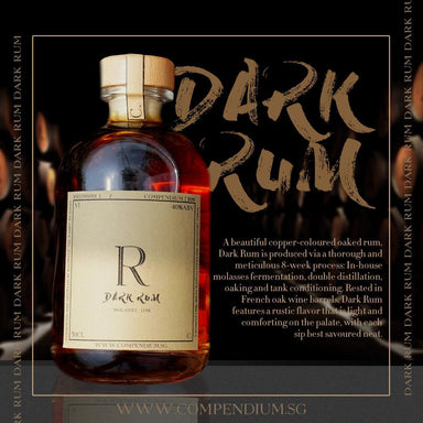 Dark Rum Alcoholic Drinks Compendium