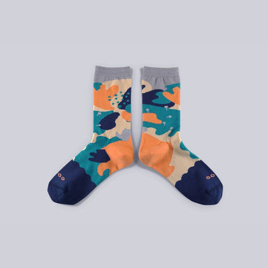 Dear, Buncho - Dark blue socks Socks GoodPair