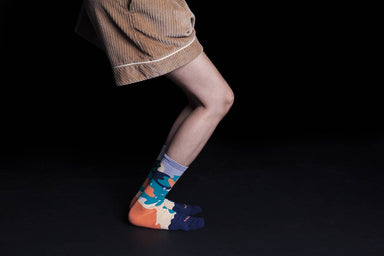 Dear, Buncho - Dark blue socks - Socks - GoodPair - Naiise