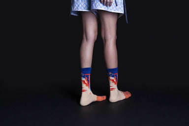 Dear, Buncho - Orange socks - Socks - GoodPair - Naiise
