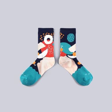 Dear, Buncho - Tropical Green socks Socks GoodPair