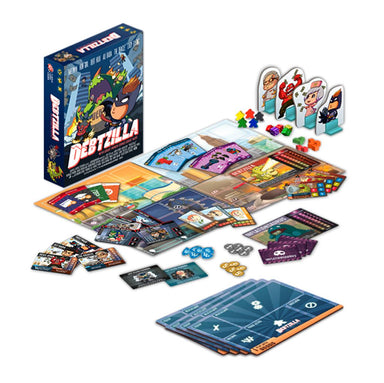 Debtzilla English Collector's Edition Board Games Capital Gains Studio