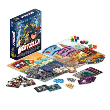 Debtzilla English First Edition Board Games Capital Gains Studio