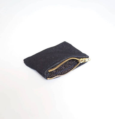 Denim Coin Pouch (Japanese Lining) - Coin Pouches - Journal Projects - Naiise