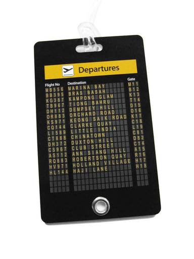 Departure Board Luggage Tag - Local Luggage Tags - LOVE SG - Naiise