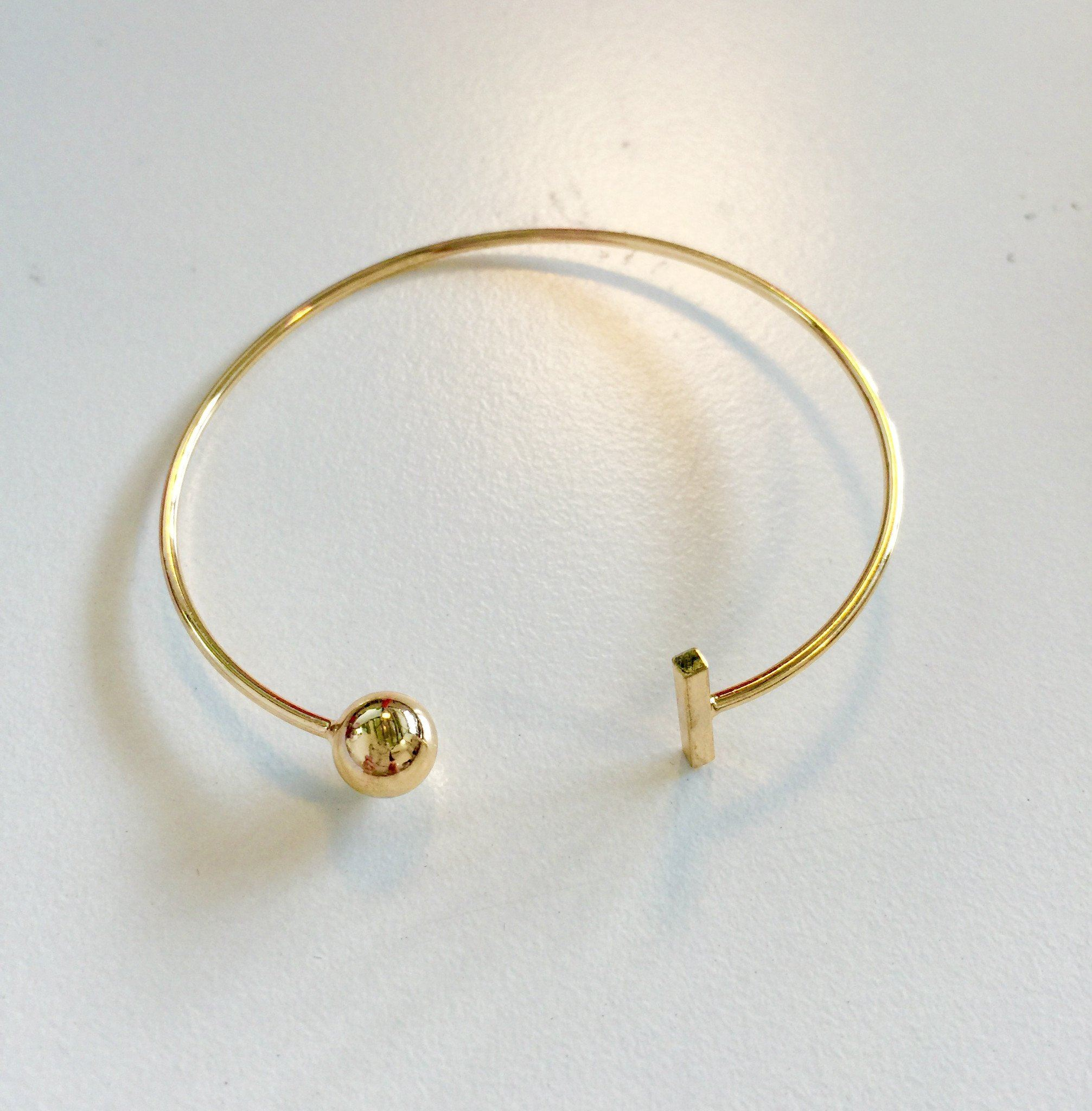 Desiree 10 Gold Bracelet - Bracelets - Bacteria Secret - Naiise