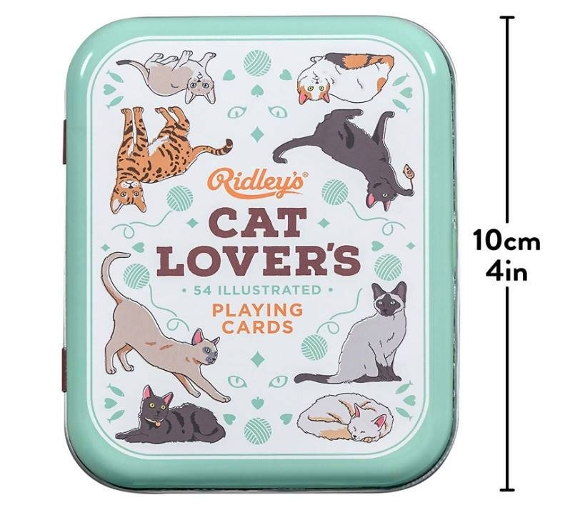 Ridley's Cat Lover's Playing Cards - Games - The Planet Collection - Naiise