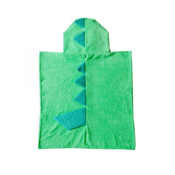 Dino Hooded Poncho Kids Bath Towels SAVANA