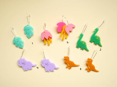 Dinosaur earrings collection - New Arrivals - Loopy Fruppy - Naiise
