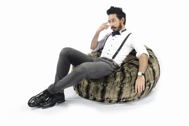 Dionysus Bean Bag | Timber Wolf(Pre-Order) - Cushions - SoftRock Living - Naiise