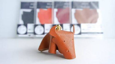 [DIY] Leather Bull Charm DIY Crafts Hides and Thread Whiskey