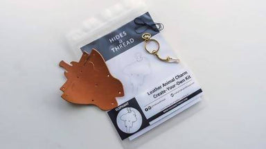 [DIY] Leather Hippo Charm - DIY Crafts - Hides and Thread - Naiise