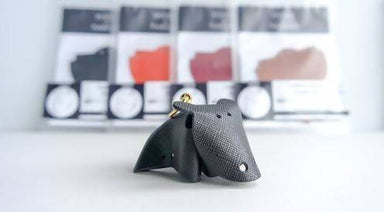 [DIY] Leather Hippo Charm DIY Crafts Hides and Thread Black