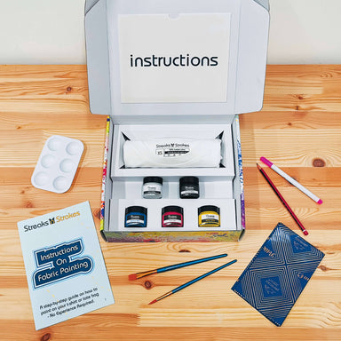 DIY T-Shirt Painting Kit for Adults - DIY Crafts - Streaks n Strokes - Naiise