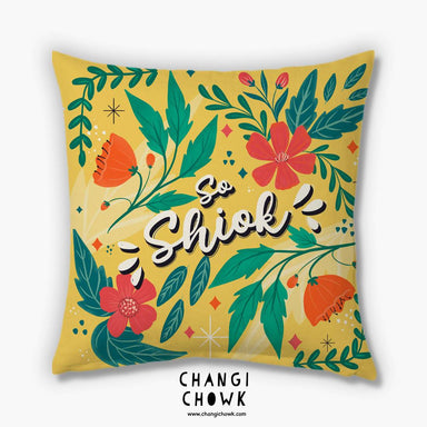 Cushion Cover - So Shiok - Local Cushion Covers - Changi Chowk - Naiise