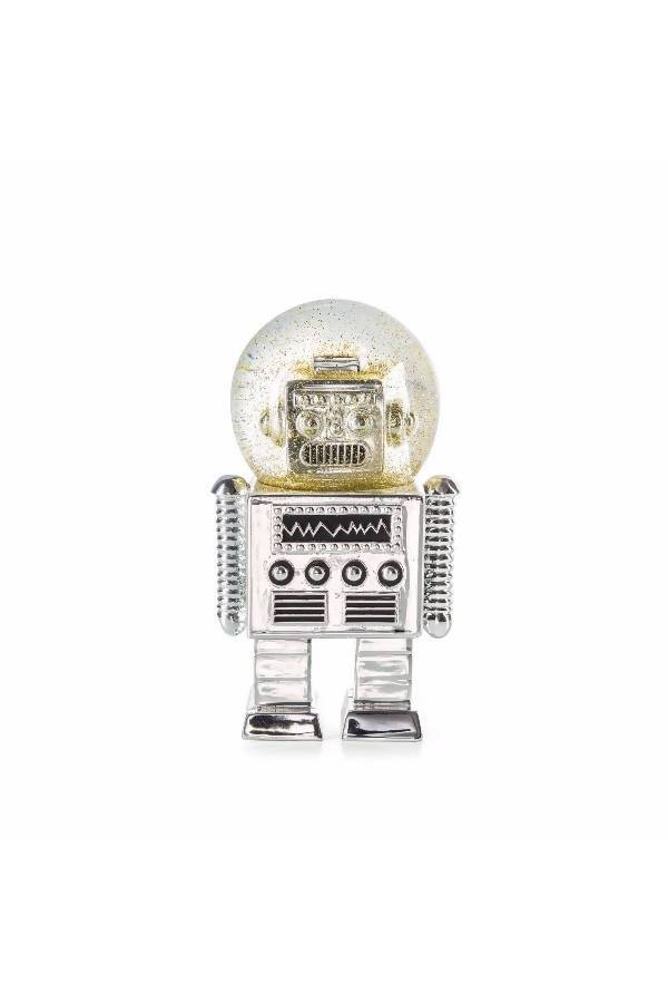 Donkey The Robot Snowglobe - Silver - Kids Toys - The Children's Showcase - Naiise