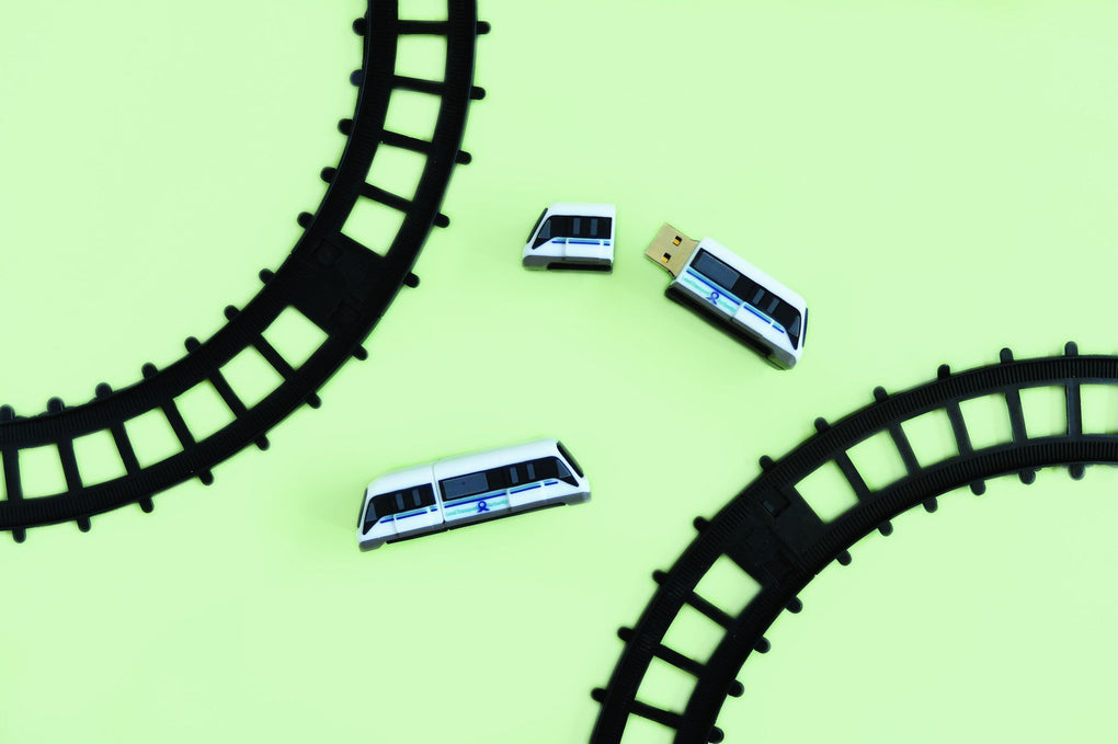 Downtown Line Train Thumbdrive 8GB Local Thumb Drives Knackstop