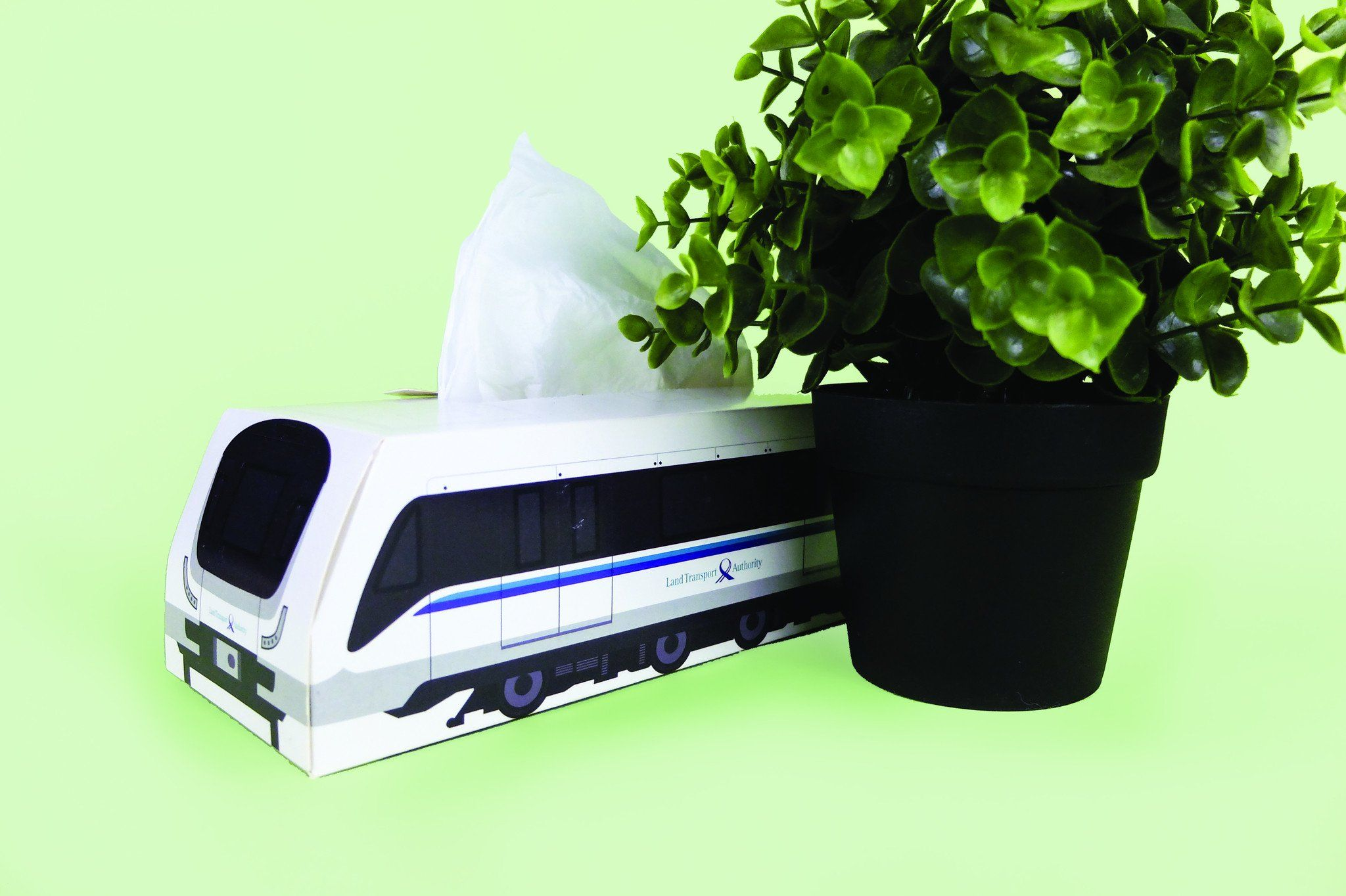 Downtown Line Train Tissue Box - Local Home Decor - Knackstop - Naiise