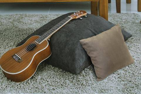 60cm Throw Cushion (Dark Grey) Cushions Scanteak 60cm Throw Cushion (Dark Grey)