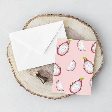 Dragonfruit Pattern Card - Generic Greeting Cards - YOUNIVERSE DESIGN - Naiise