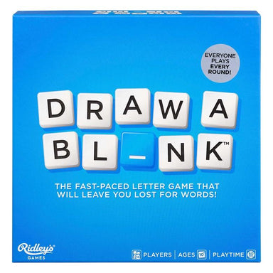 Draw A Blank Game Board Games RIDLEY