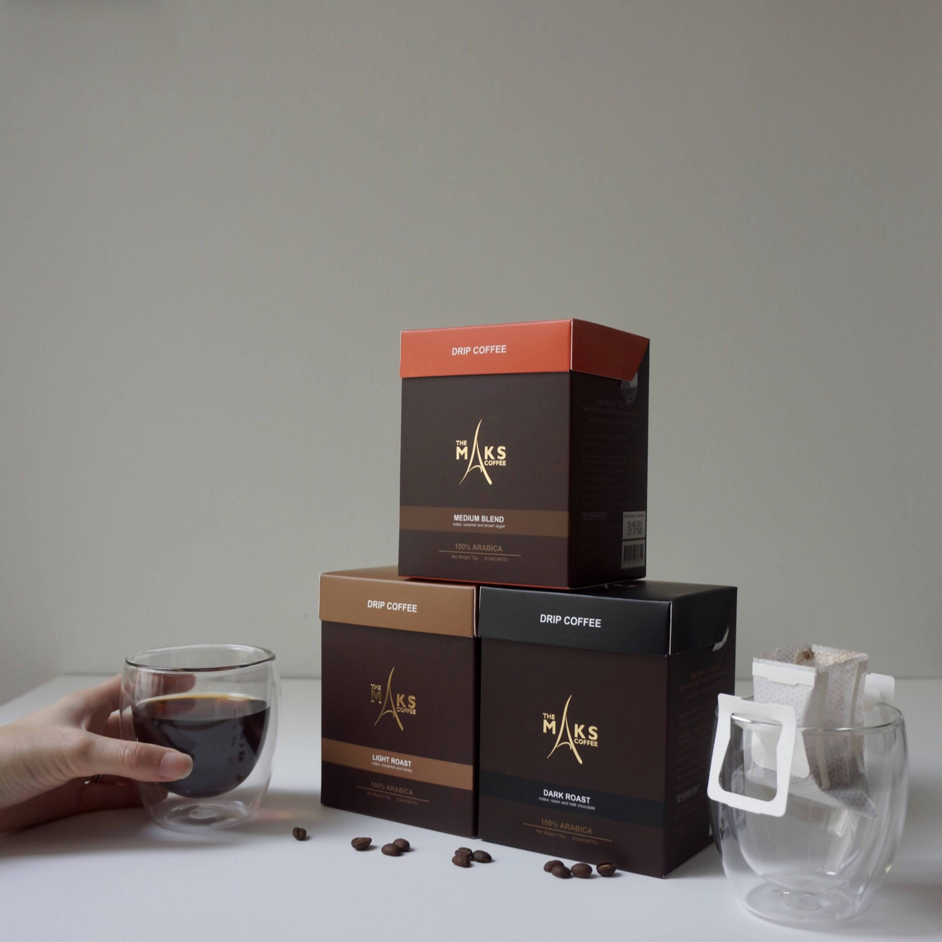 Drip Coffee Trio Set - Coffee - The Maks' Coffee - Naiise