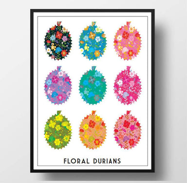 Durians Patterns Print - Prints - Big Red Chilli - Naiise