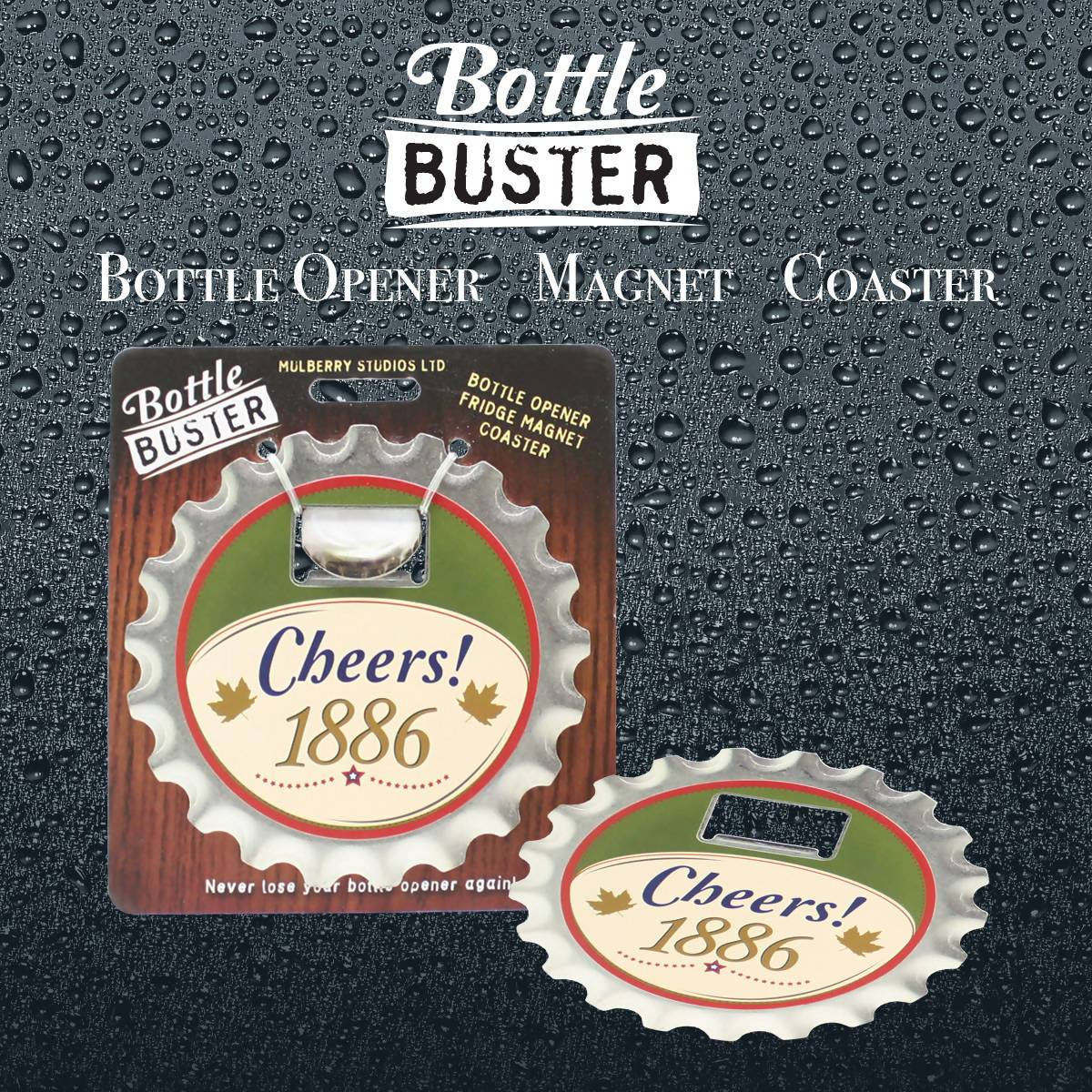 BOTTLE BUSTER - Best Bottle Opener : Cheers - Bottle Openers - La Belle Collection - Naiise