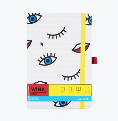 Mustard - Wink Notebook Notebooks The Planet Collection