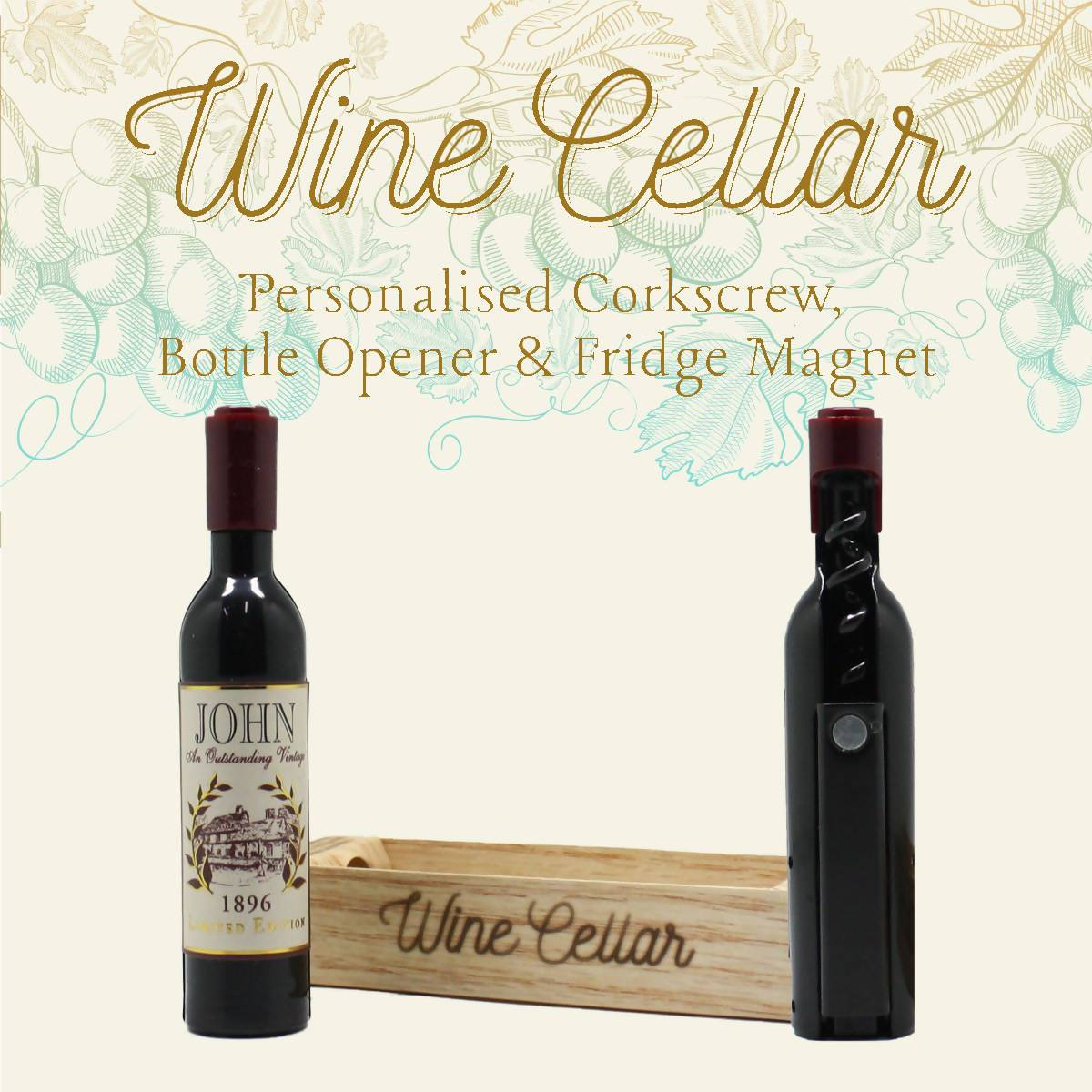 WINE CELLAR - For Wine Lover : John - Bottle Openers - La Belle Collection - Naiise