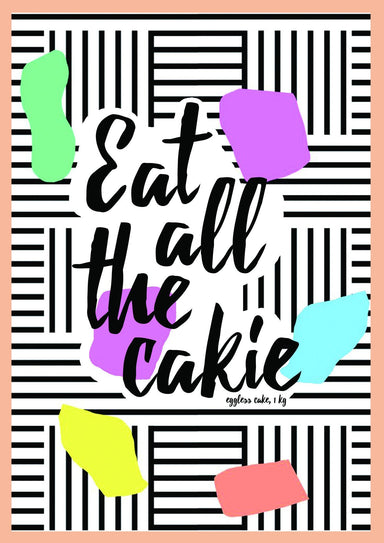 Eat All The Cake Postcard - Postcards - The Paper Happiness - Naiise