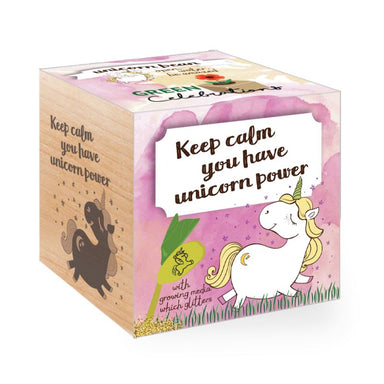Eco Plant- Unicorn Series (Keep Calm) Novelty Gifts Feel Green