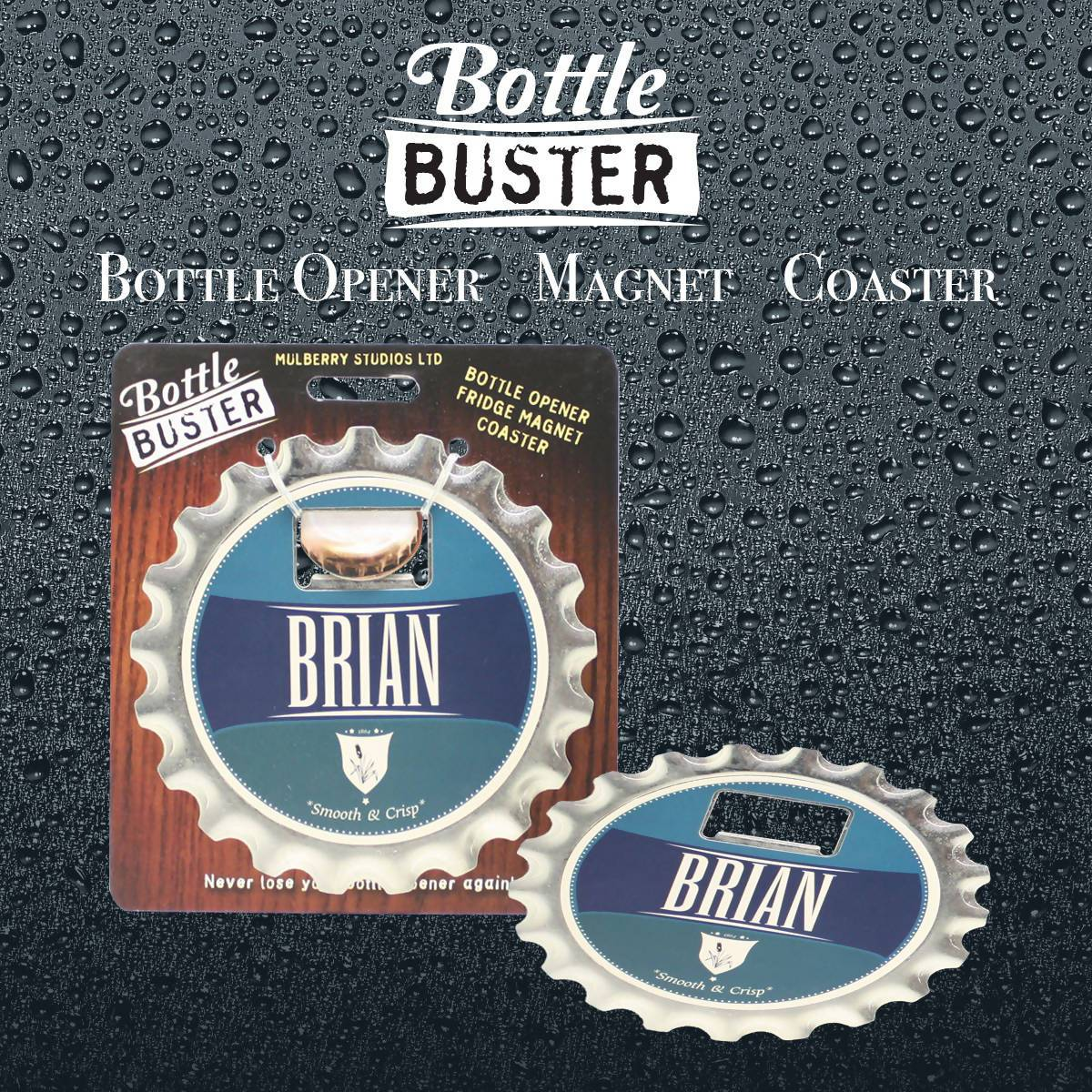 BOTTLE BUSTER - Best Bottle Opener : Brian - Bottle Openers - La Belle Collection - Naiise