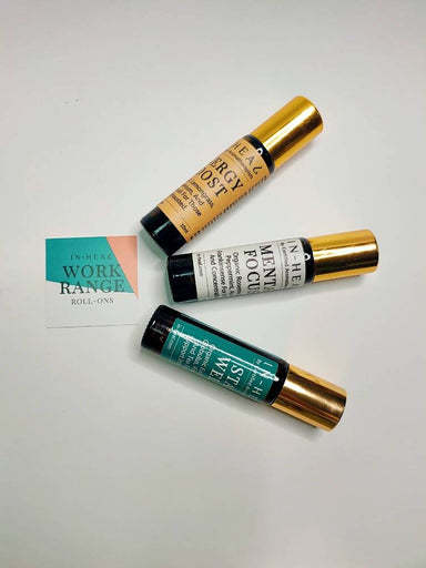 Aromatherapy Oil Roll-On Gift Set - Work Range - Essential Oil Roll-Ons - IN-HEAL - Naiise