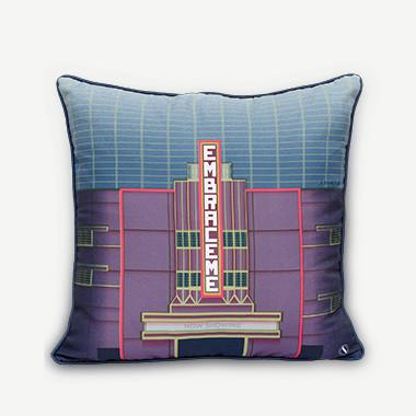 Embrace Me Cushion Cover - The Cathay Cinema Local Cushion Covers SCENE SHANG