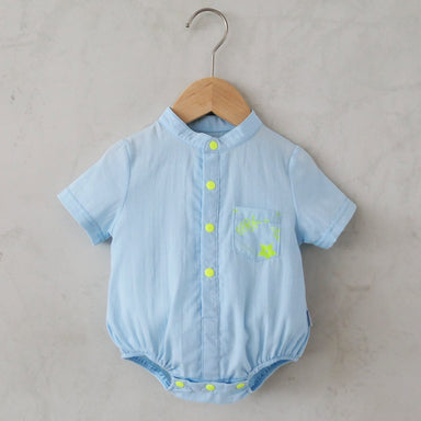 Emery Neon Print Onesie Kids Clothing Anak & I 12M