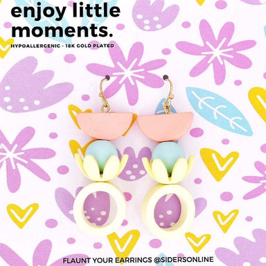 Enjoy Little Moments Earrings - Earring - Sidersonline - Naiise