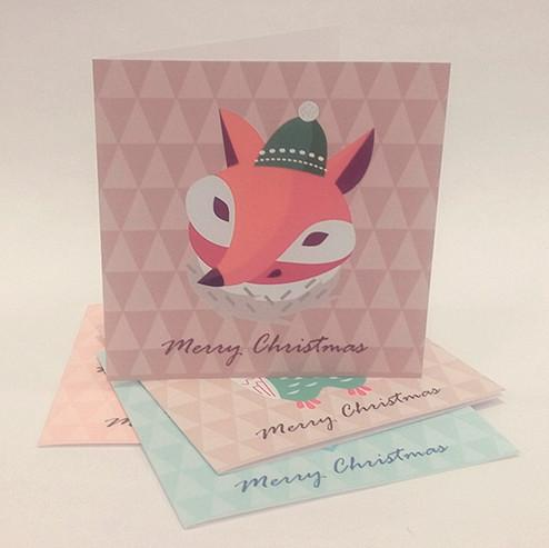 Everyday Christmas Series Christmas Cards Christmas Cards Sweet Lava Fox