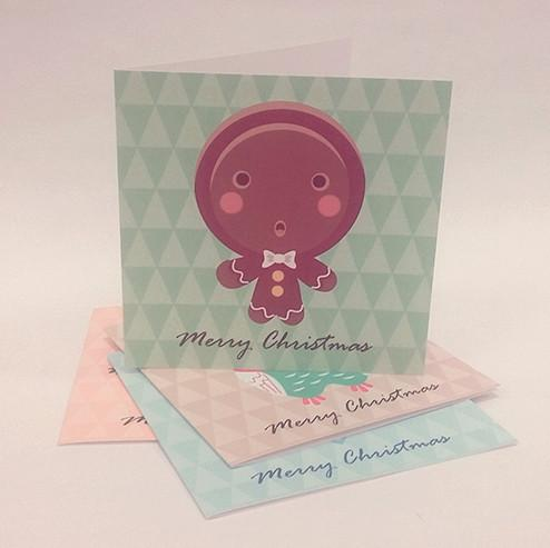 Everyday Christmas Series Christmas Cards Christmas Cards Sweet Lava Gingerbread Man