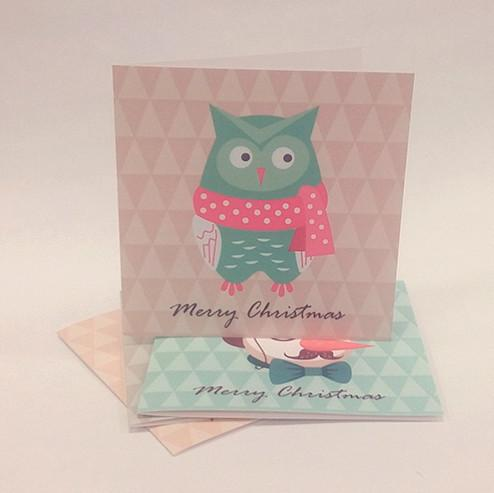 Everyday Christmas Series Christmas Cards Christmas Cards Sweet Lava Owl