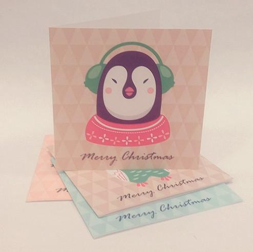 Everyday Christmas Series Christmas Cards Christmas Cards Sweet Lava Penguin