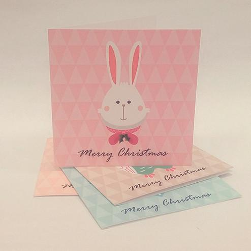 Everyday Christmas Series Christmas Cards Christmas Cards Sweet Lava Rabbit