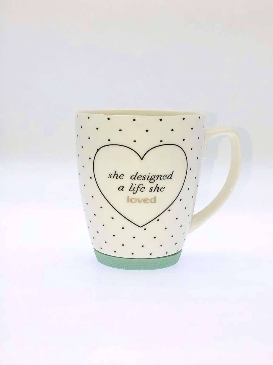 Royal Spade - Gold Decal With Quote Mug - Mugs - The Planet Collection - Naiise